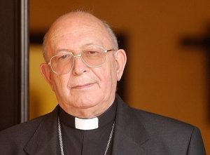 D. Antonio Dorado Soto, obispo de Málaga